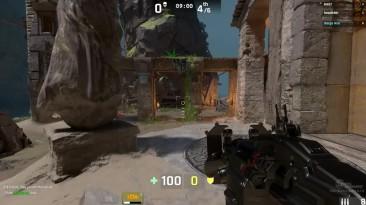 Unreal Tournament 4 геймплей альфа версии в режиме deathmatch