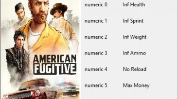 American Fugitive: Трейнер/Trainer (+8) [1.0.17323] {Sanka}