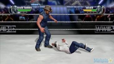"WWE 2K15 ""Чак Норрис vs Джастина Бибера"""