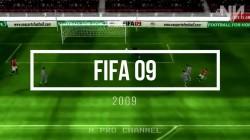 История серии игр FIFA 1994 - 2018