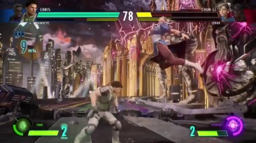 MARVEL VS CAPCOM INFINITE - новый геймплей