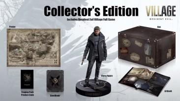 Распаковка коллекционного издания Resident Evil Village
