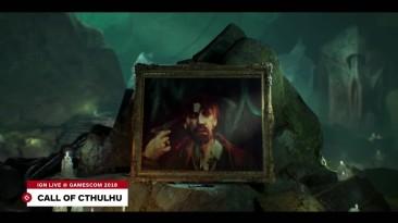 Геймплей Call of Cthulhu с Gamescom 2018