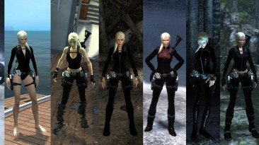 "Tomb Raider: Underworld ""Ultra-Black + Blond"""