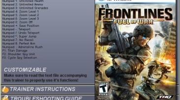 Frontlines: Fuel of War: Трейнер (+12) [1.0.2]