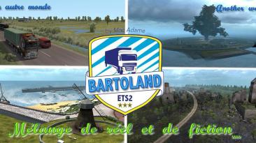 "Euro Truck Simulator 2 ""Карта: Bartoland v2.2 (1.40.x)"""
