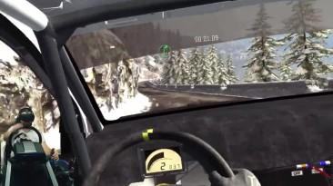 Подготовка к чемпионату мастеров #2 Volkswagen Polo Rally - Dirt Rally Oculus Rift Fanatec CSL Elite