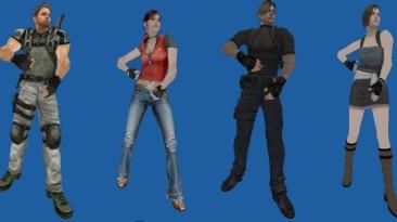"""Unreal Tournament 2004 """"Модели из Resident Evil"""""""