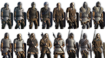 "Total War Saga: Thrones of Britannia ""NordoPic: Alternative 3D card style (ALPHA)"""