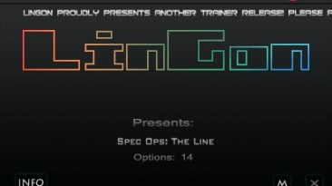 Spec Ops - The Line: Трейнер/Trainer (+14) [Update - 2012.08.23/24: Steam Version] {LinGon}