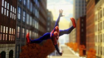 "Spider-Man: Web of Shadows ""Концепт красного костюма"""