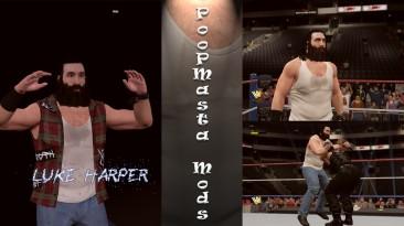 """WWE 2K17 """"Luke Harper Hair Animation"""""""