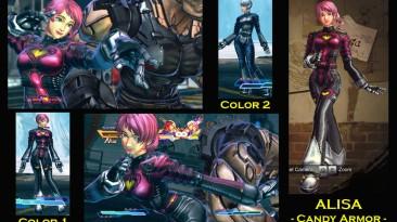 "Street Fighter X Tekken ""SFxT Mod: Alisa - Candy Armor"""