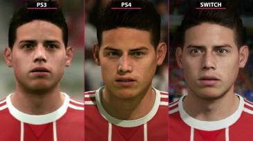 FIFA 18 - Сравнение Nintendo Switch vs. PS3 vs. PS4 (Candyland)