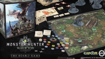 Будет выпущена настольная игра по Monster Hunter World