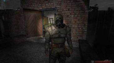 "S.T.A.L.K.E.R.: Shadow of Chernobyl ""Моделька сталкера в американском противогазе"""