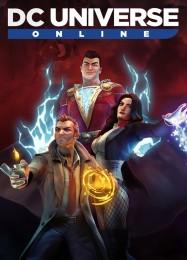Обложка игры DC Universe Online