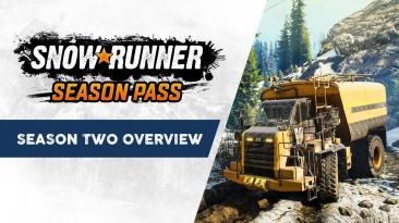 В симуляторе бездорожья SnowRunner стартовал второй сезон - новые машины, регион и механики