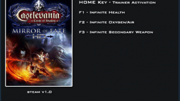 Castlevania: Lords of Shadow ~ Mirror of Fate: Трейнер/Trainer (+3) [1.0] {LinGon}