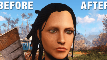 "Fallout 4 ""Фикс ржавых лиц"""