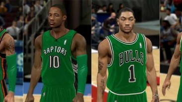 """NBA 2K11 """"ST PATRICK JERSESY"""""""