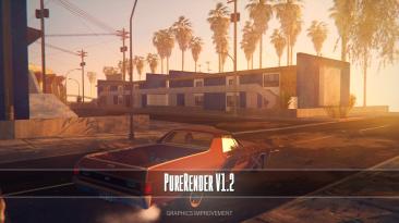 "Grand Theft Auto: San Andreas ""PureRender V1.2"""