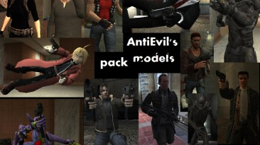 """Max Payne 2: The Fall of Max Payne : """"AntiEvil's model pack"""""""