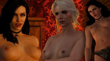 """Witcher 3 """"Грудь нового поколения"""""""