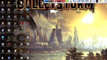 BulletStorm Тема для Windows 7 1280x1024, с измененными звуками