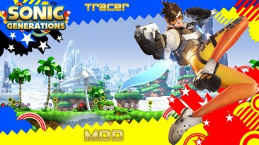 """Sonic Generations """"Tracer Mod"""""""