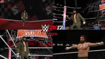 """WWE 2K17 """"Sami Zayn Wrestlemania 37 Наряд (Лицевая анимация) WWE 2K19 Порт Мод"""""""