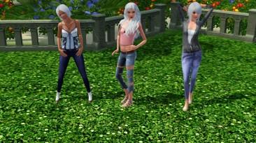 """The Sims 3 """"Одежда для пожилых (женская)"""""""
