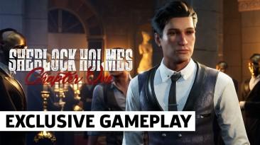 7 минут игрового процесса Sherlock Holmes: Chapter One