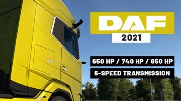 """Euro Truck Simulator 2 """"Дополнительные двигатели для DAF XG/XG+"""""""