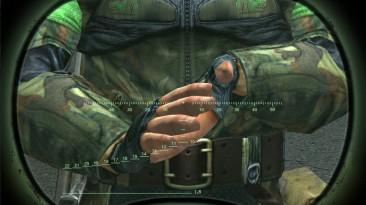 "S.T.A.L.K.E.R.: Shadow of Chernobyl ""Исправление зелёных рук у свободовцев"""