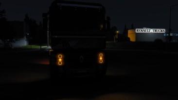 """Euro Truck Simulator 2 """"'Ангельские глазки' для дефолтных грузовиков"""""""