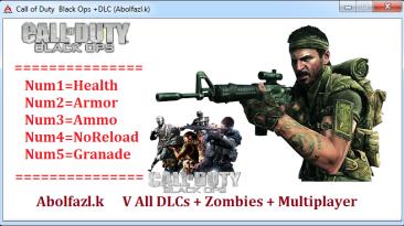 Call of Duty: Black Ops: Трейнер/Trainer (+5) [11.01.17] {Abolfazl.k}