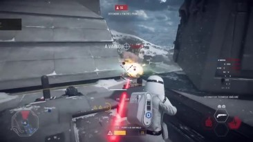Star Wars Battlefront 2 - Эпик моменты #2