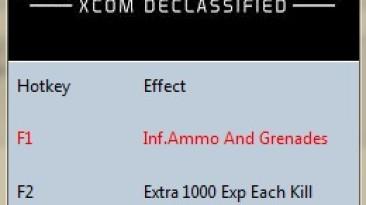 The Bureau: XCOM Declassified: Трейнер/Trainer (+3) [1.0: 32 Bit/DX9] {MrAntiFun}