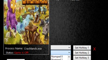 Crashlands: Трейнер/Trainer (+3) [02.06.2016] {MrAntiFun}