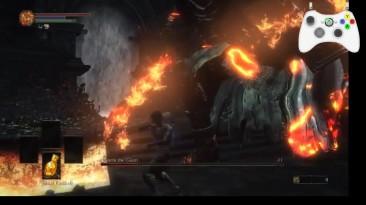 Dark Souls 3 - Гигант Йорм без оружия и брони