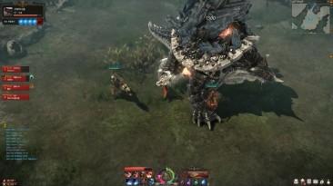 Lost Ark CBT Guardian Raid Chromanium Full Gameplay - Monster Hunter Mode