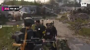 """Call of Duty: WWII """"Нарезка самых эпичных и смешных моментов #1"""""""