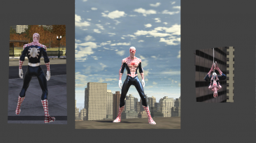 "Spider-Man: Web of Shadows ""Красно-белый Человек-Паук"""