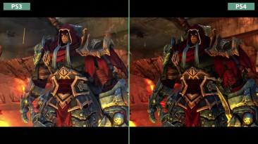 Darksiders Сравнение графики PS3 vs. PS4 Remaster (Candyland)