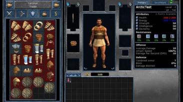 """Titan Quest """"Arctic UI"""""""