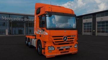 "Euro Truck Simulator 2 ""Мод Mercedes-Benz Actros MP2 v1.2 (1.39.x)"""
