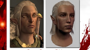 "Dragon Age: Origins ""Ретекстур Зеврана из 2 части"""
