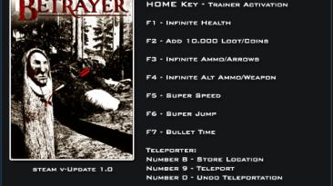 Betrayer: Трейнер/Trainer (+9) [1.0] {LinGon}