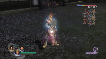 "Warriors Orochi 2 ""DW5 costumes wei"""